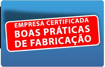 Certificação Boas Práticas de Fabricação